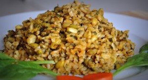 Brown Rice Pulav
