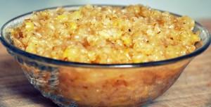 Bulgar Wheat Sweet Pongal