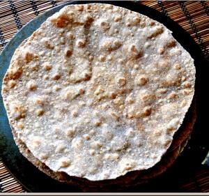 Mixed flour roti