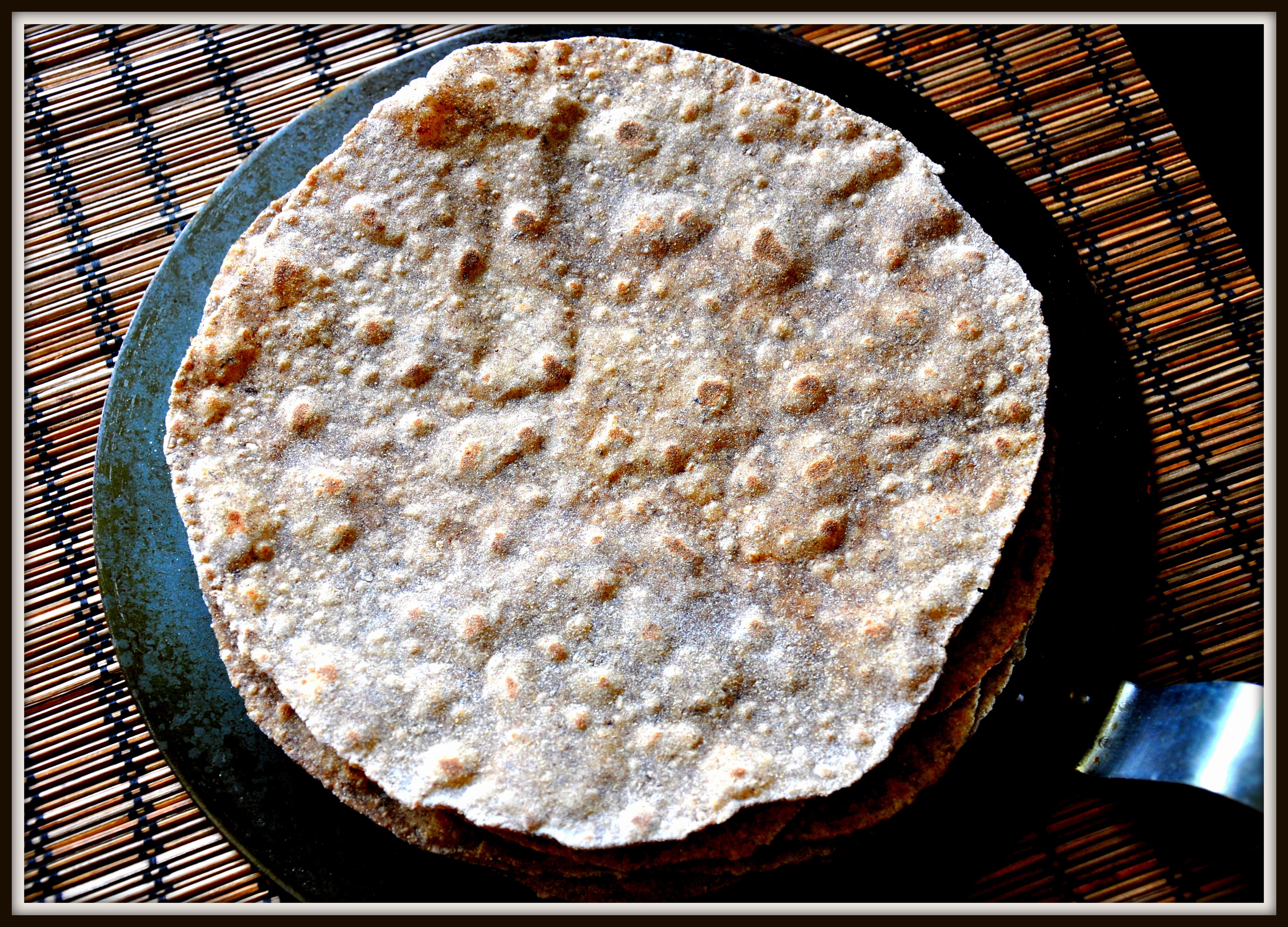 Protein In Wheat Flour Roti