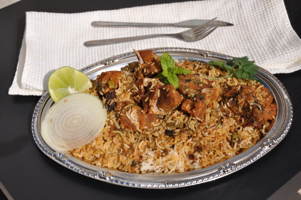 """Hyderabadi Dum Mutton Biryani"""