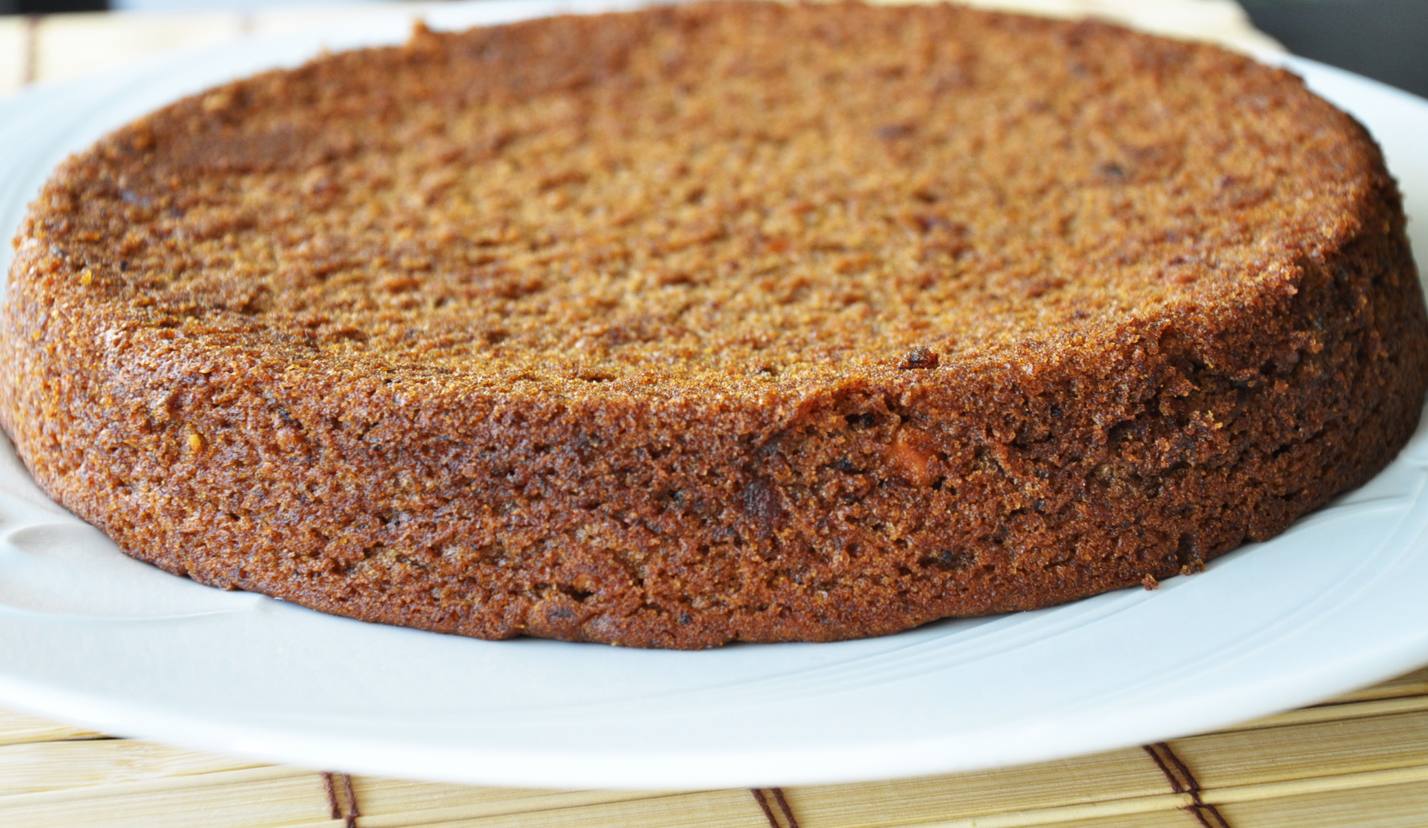 Vegan Whole Wheat Date Walnut Cake