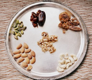 dryfruit and nut laddu ingredients