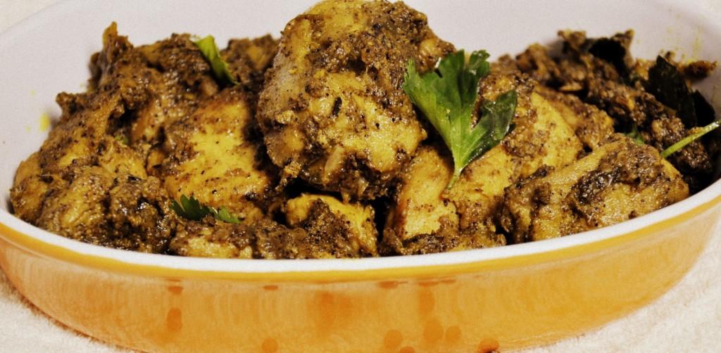 Pepper chicken Curry