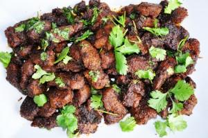 Hyderabadi goat fry