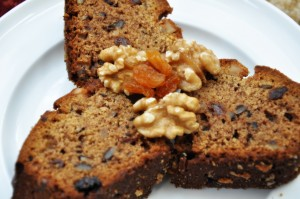 Whole wheat Banana walnut cake