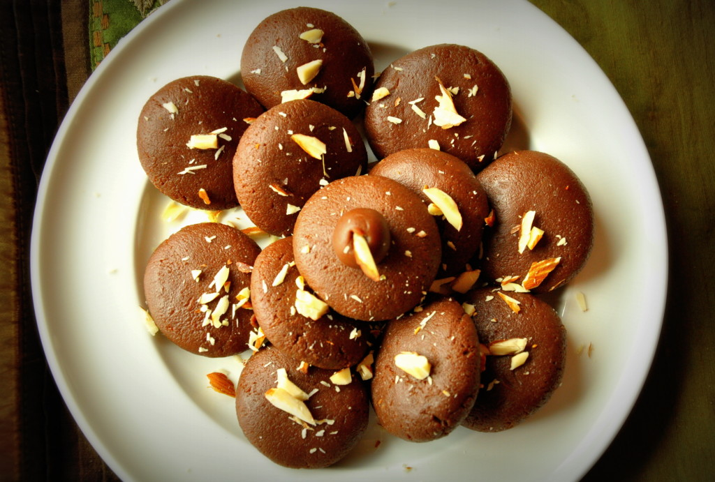 Chocolate peda balls
