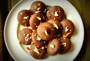Chocolate peda balls