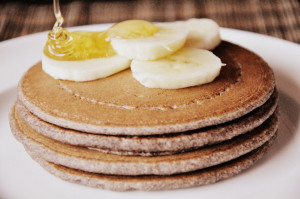 Ragi Oats Pancakes